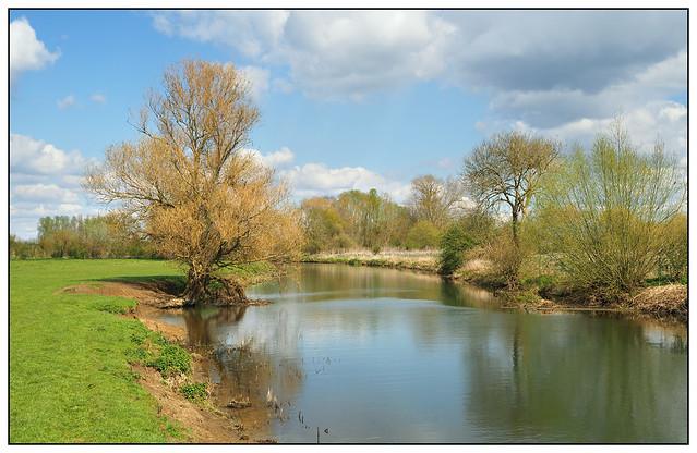 2021-0077 - River Nene near Islip, Northants.