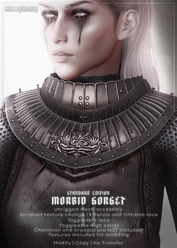 !R! Morbid Gorget @ FANTASY FAIRE APR 22ND 2021