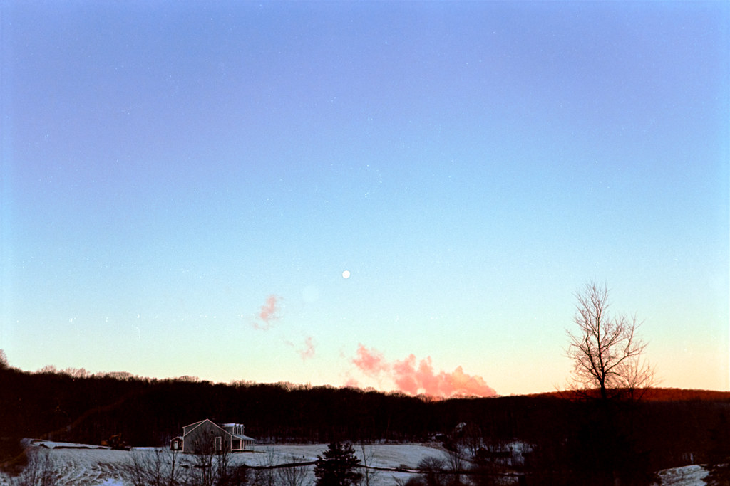 Moonrise and Steam