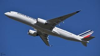 Air France Airbus A350-900 (F-WZGV F-HTYI MSN491) (19/04/2021)