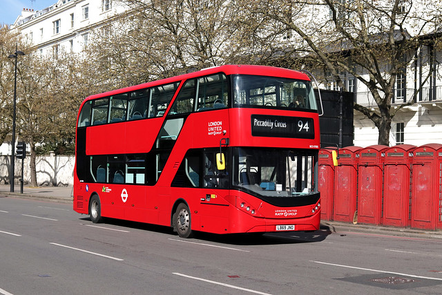 Route 94, London United, BCE47005, LB69JNO