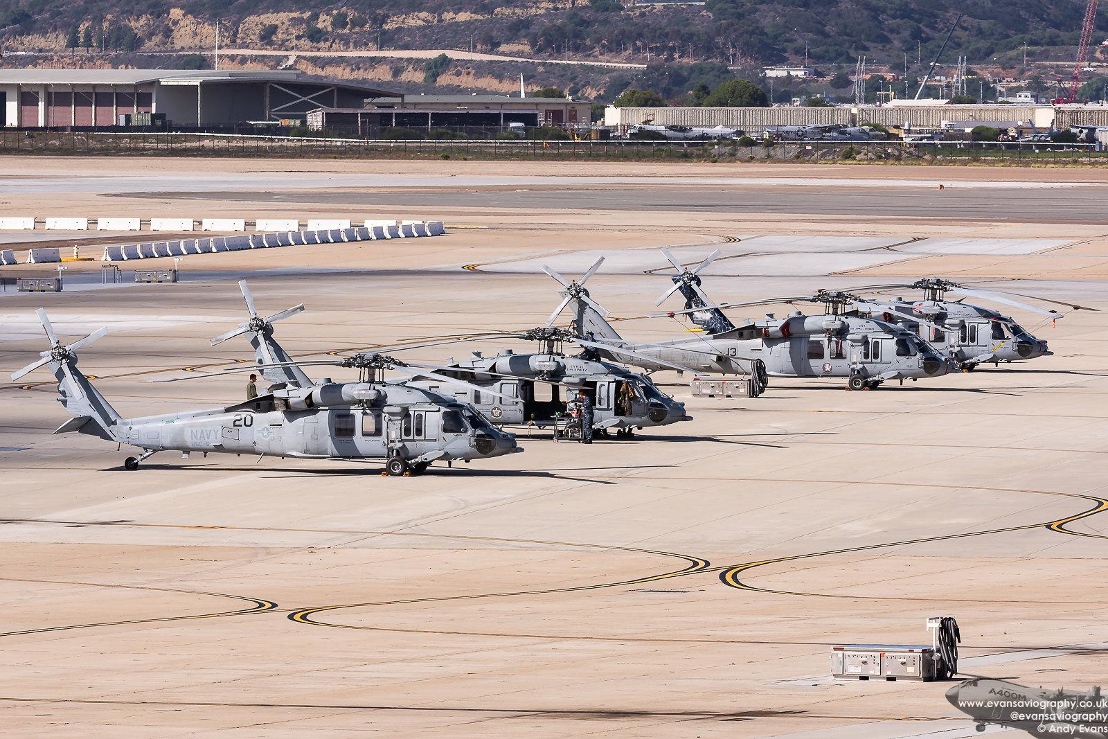 MH-60S Dispersal
