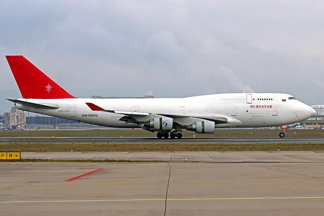 Rubystar Airways Boeing 747-409(BDSF) EW-556TQ