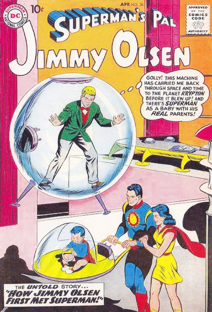 Superman's Pal, Jimmy Olsen #36