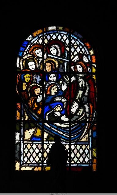 Vitrail de l'Eglise de Charleval