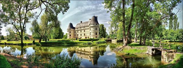 Château de l'Islette, built in 1526-1530, Cheillé (2km from Azay-le-Rideau), Loire valley castles, France.