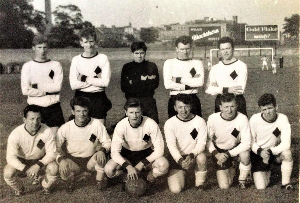 Black Diamond FC 1965. Thanks to Gary Bradley for the photo