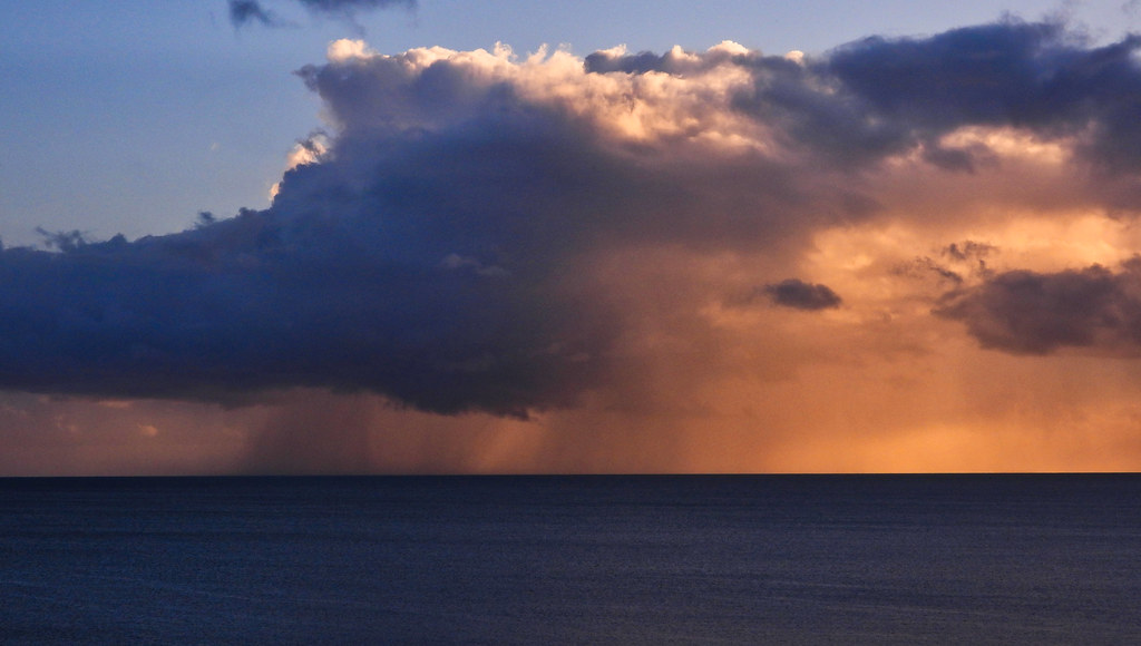 Coral Sea Rainstorm - March 19, 2020