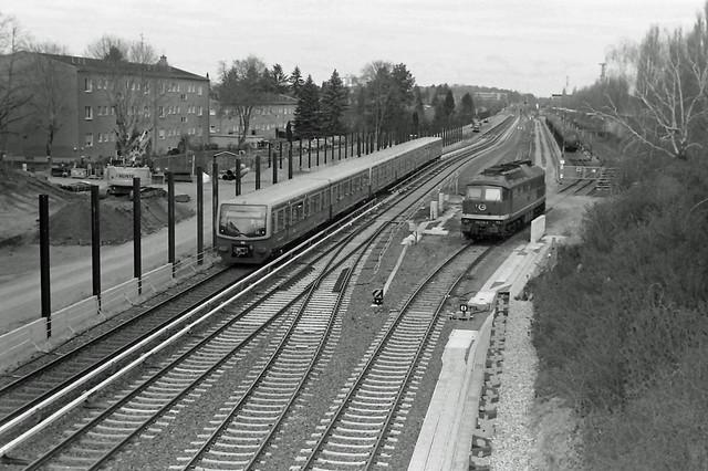Berlin DB Baustelle Dresdner Bahn 16.4.2021