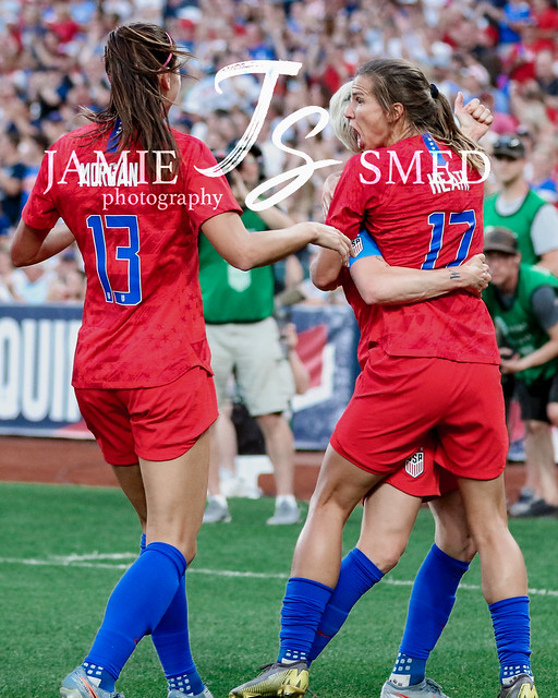 Alex Morgan, Tobin Heath & Megan Rapinoe