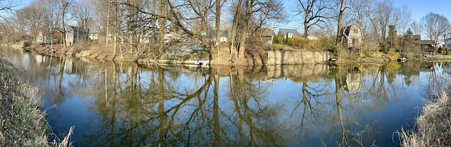 Goshen Millrace Canal Reflections (1)