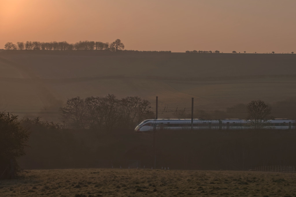 801221 1A02 0530 Leeds to Kings Cross,Saltersford Lincolnshire April 20th 2021