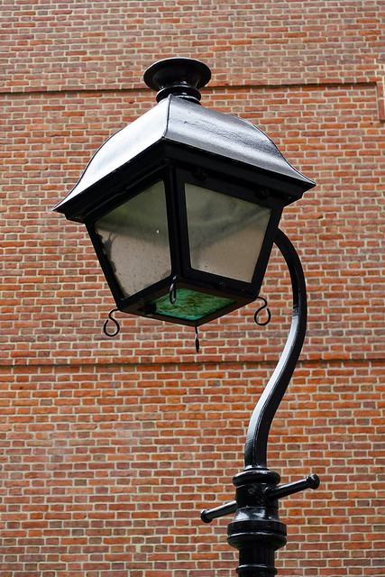 Lantern at Independence Hall at Independence National Historic Park in Philadelphia, PA