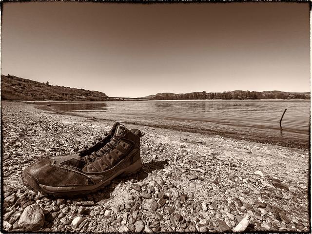109/365 Shoe-less in Kamloops