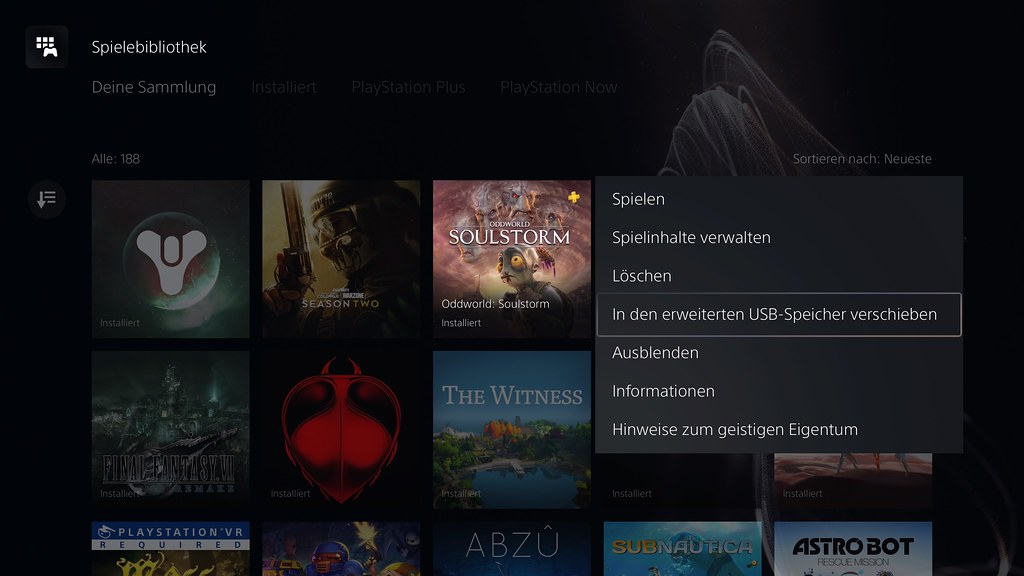 51127437927 bebc6f554f b - PS5 Systemsoftware-Update – So nutzt ihr den erweiterten Speicher für PlayStation 5-Games