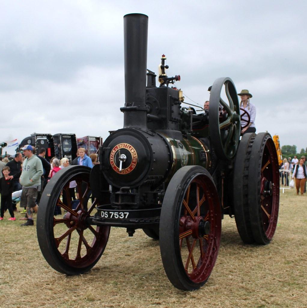 066 Clayton Shuttleworth General Purpose Engine (1919) DS 7537