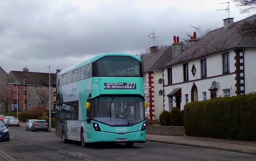 First Aberdeen 39714 SV70BXC (20th April 2021)