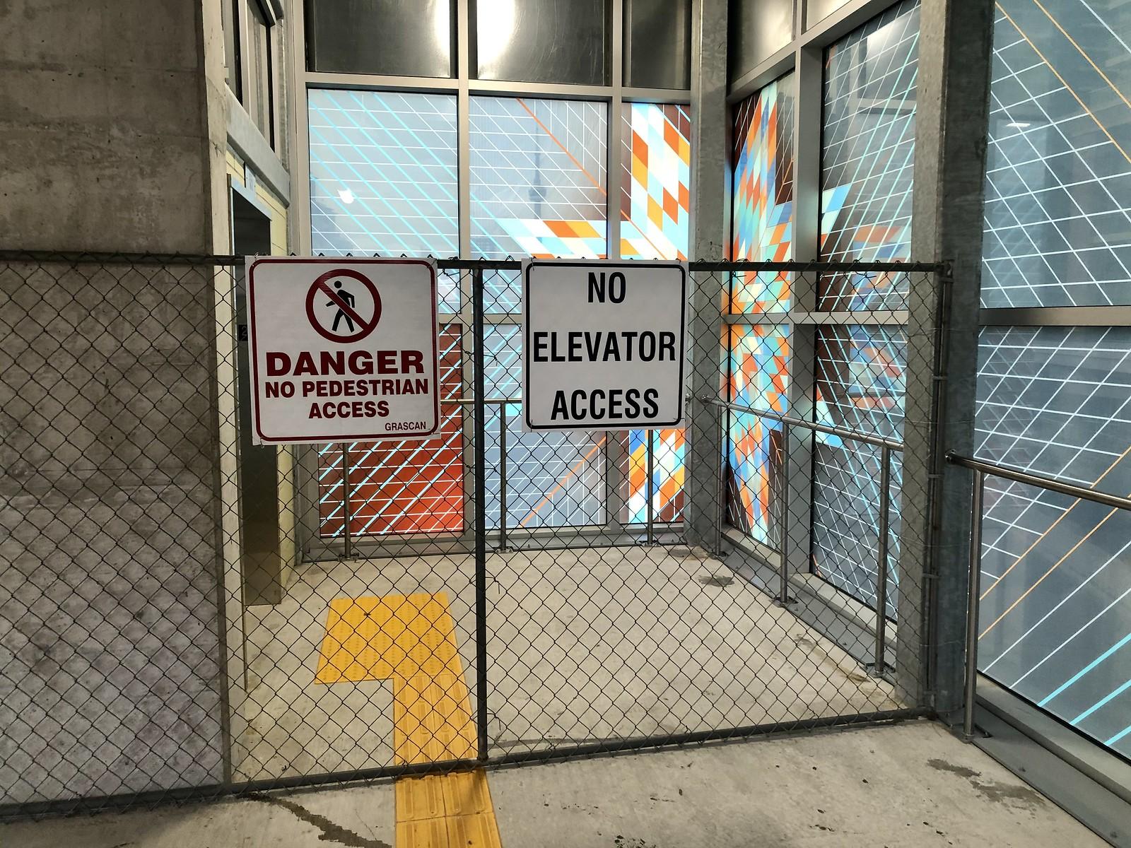 No Elevator Access