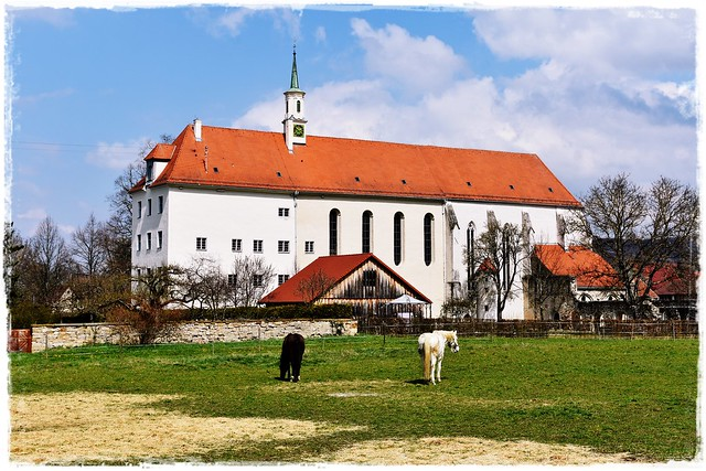 The Monastery Church of the Dominican Sisters (Church of St John the Baptist) in Stetten bei Hechingen, Baden-Württemberg, Germany
