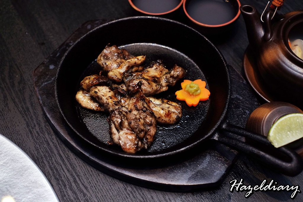 Sen-ryo-Grilled Chicken Thigh in Charcoal Style Sauce