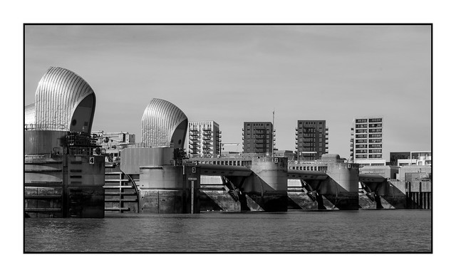 Thames Barrier and Charlton