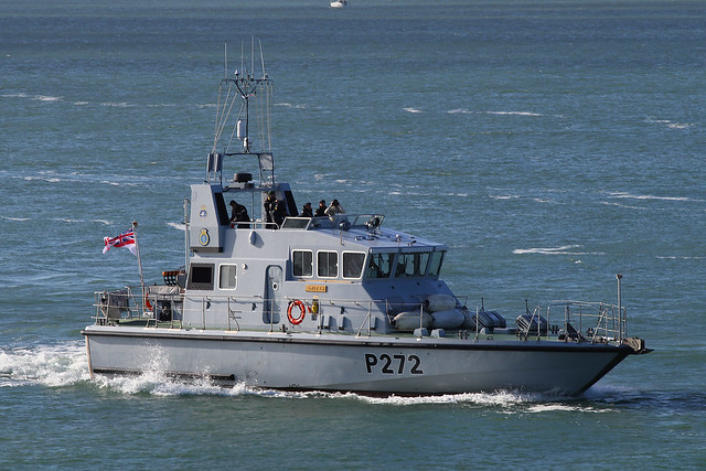 HMS Smiter, Portsmouth, October 15th 2020