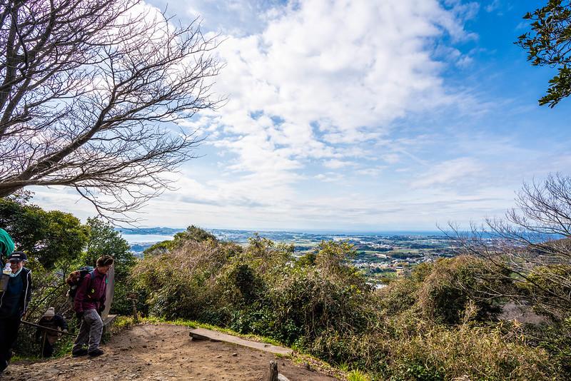 三浦富士 展望