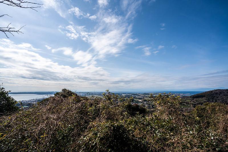 三浦富士の展望