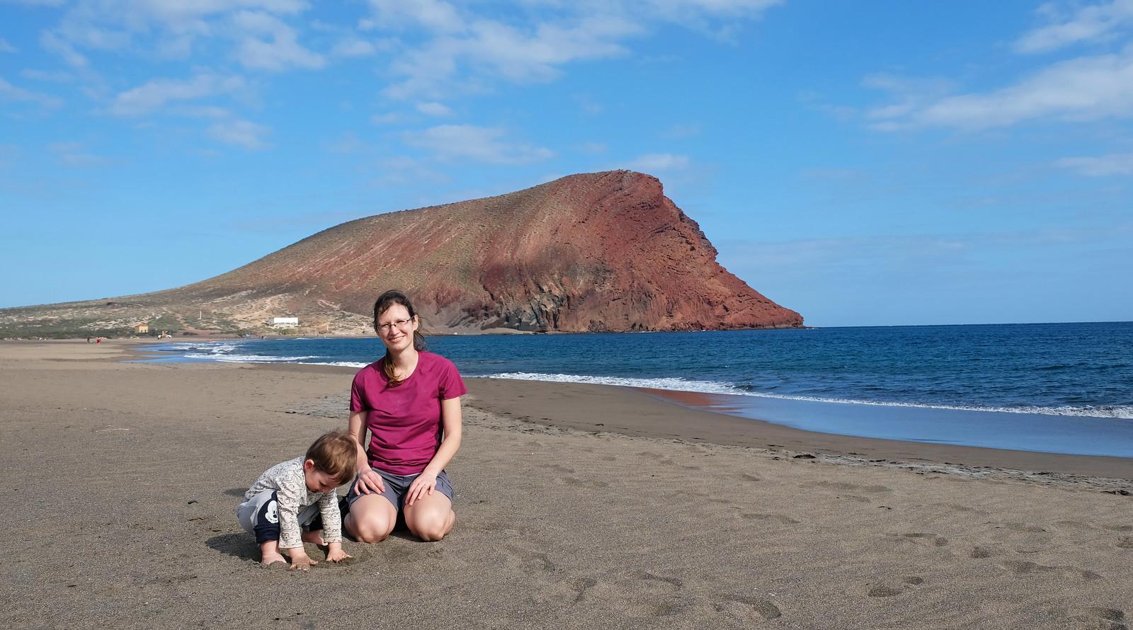 Playa de la Tejita, Tenerife, Canary Islands, Spain