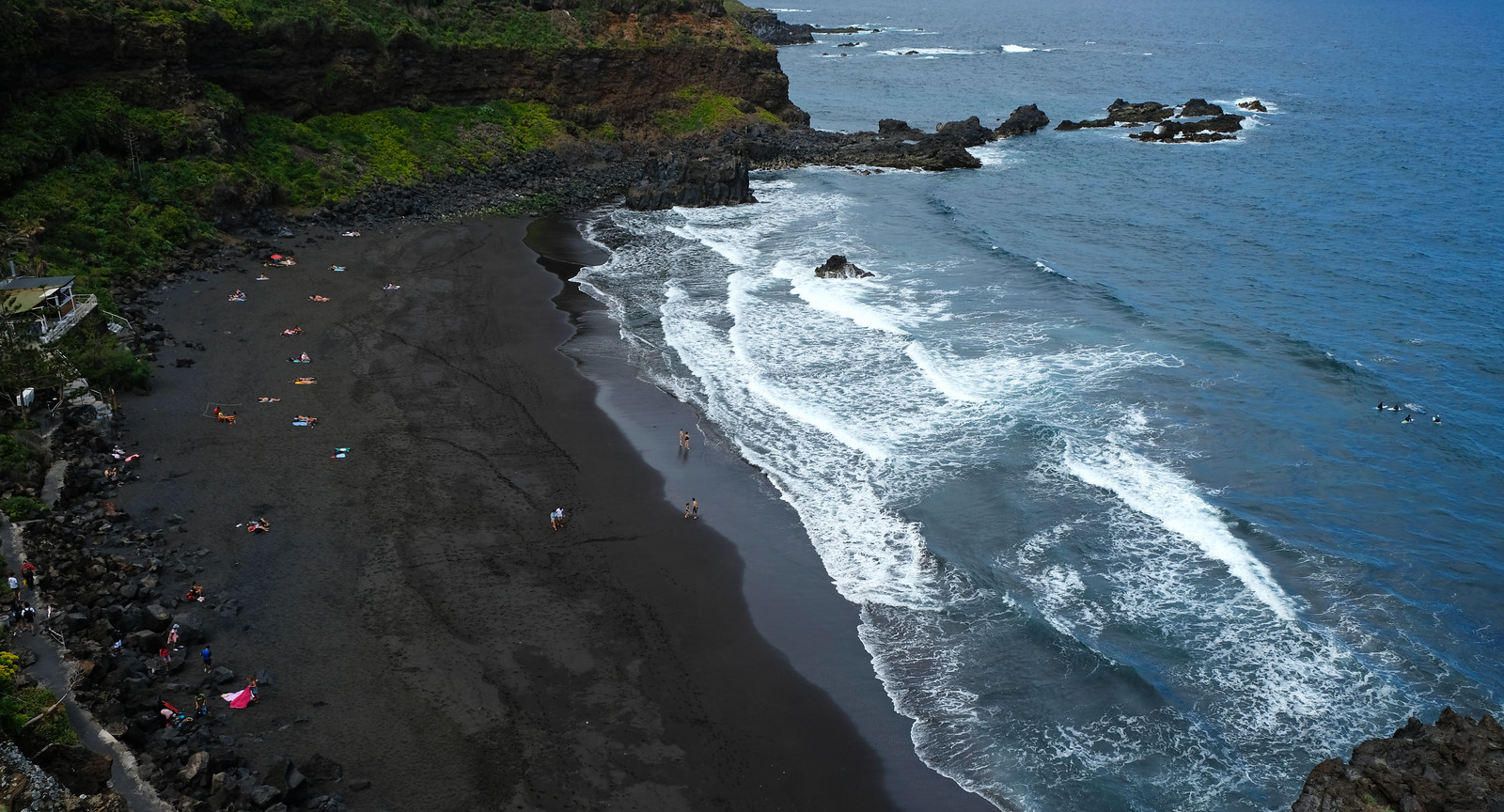 Playa el Bollullo, Tenerife, Canary Islands, Spain