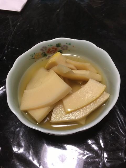 竹の子ご飯と煮物!