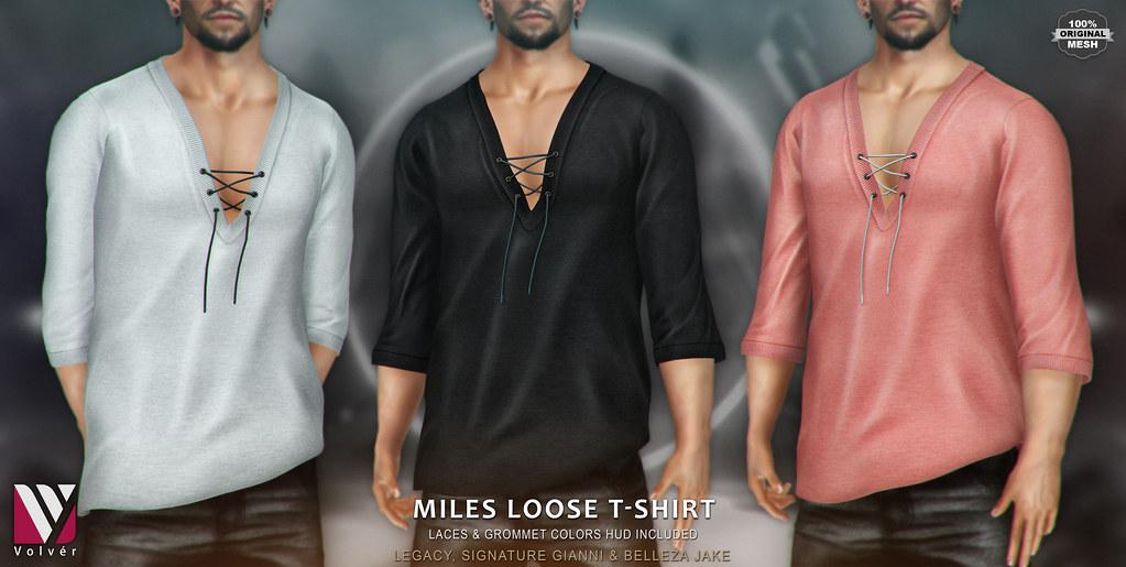 Volvér - Miles loose T-shirt