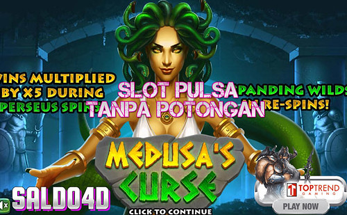 Judi Slot Medusas Curse Top Trend Gaming SALDO4D
