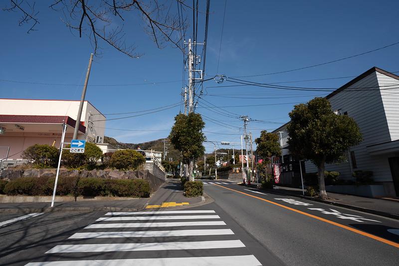 京急長沢駅から三浦富士へ