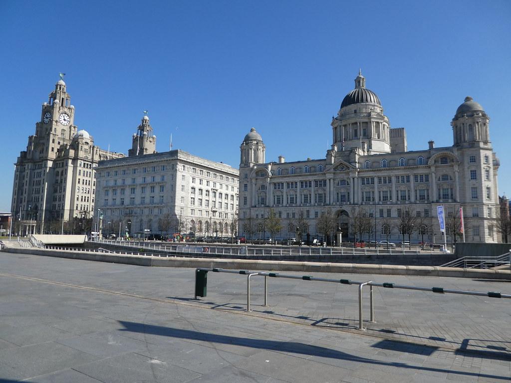 The Three Graces, Liverpool Pier Head