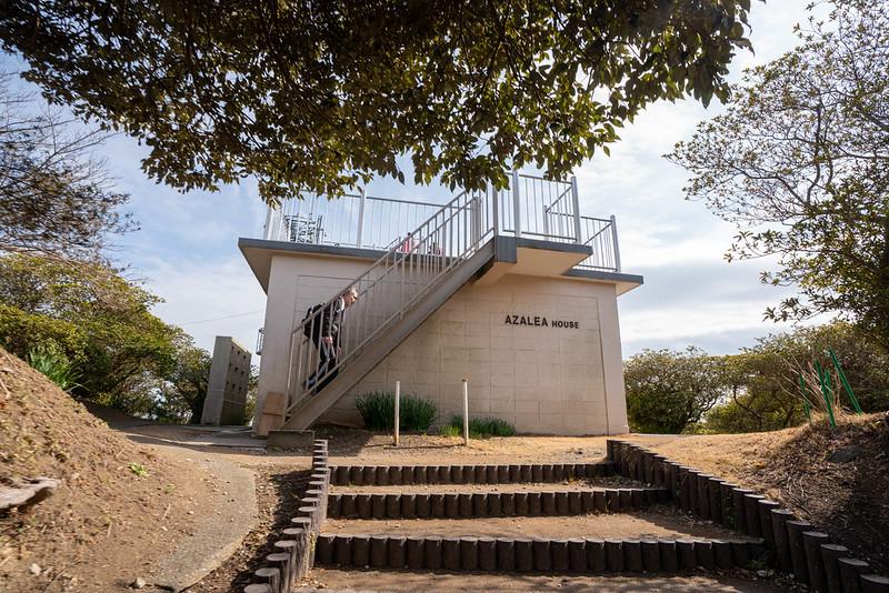 武山の展望台
