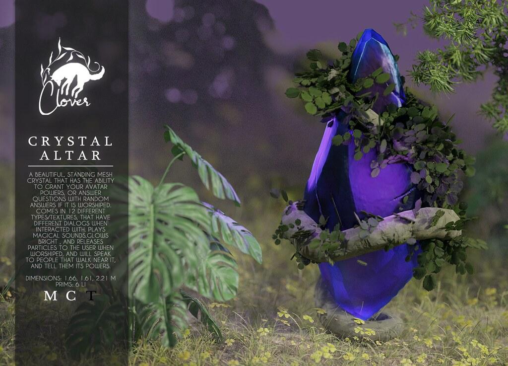 Clover – Crystal Altar