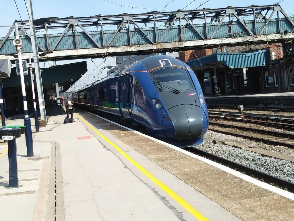 First Hull Trains Azuma Class 802 802302