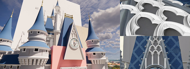 Walt Disney World - Cinderella Castle 3D Model - Render 24