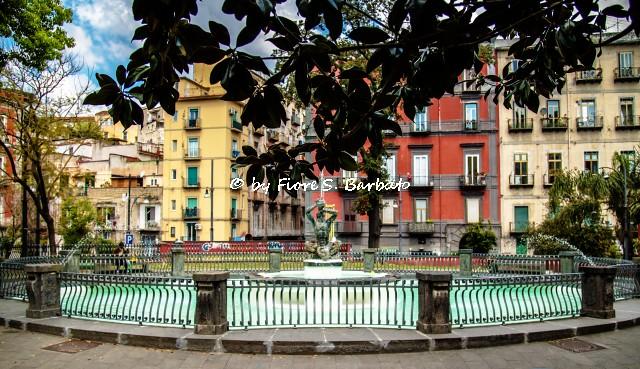 Napoli (NA), 2021, Fontana del Tritone.