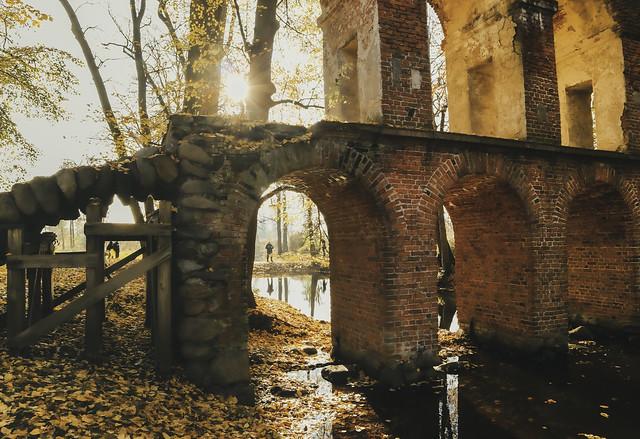 Arkadia park. Masovia. Poland