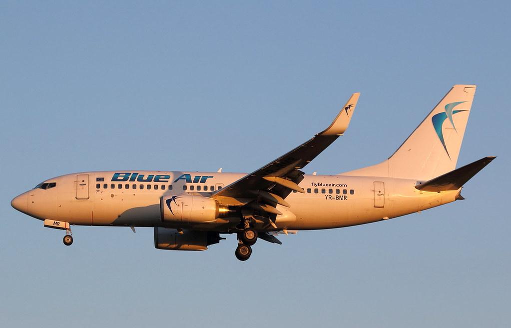 Blue Air | B737-700 | YR-BMR | HAM/EDDH | 20.04.2021