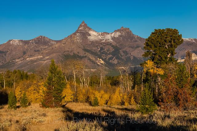 Pilot Peak and Index Peak along Beartooth Highway
