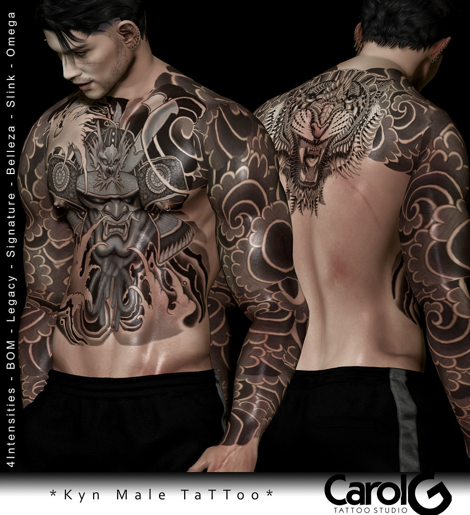 Kyn Male TaTToo [CAROL G]