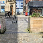Covid barriers in Preston