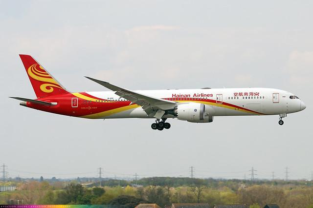 B-1133  -  Boeing 787-9 Dreamliner  -  Hainan Airlines  -  LHR/EGLL 20/4/21