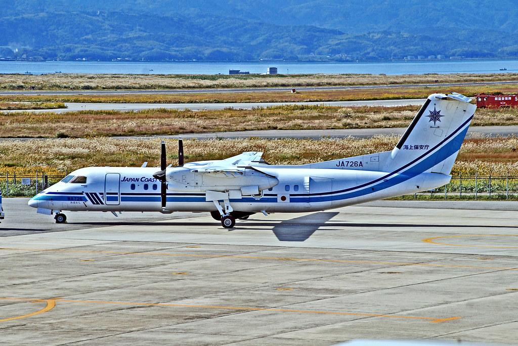 JA726A   De Havilland Canada DHC-8-315 Dash 8, [564] (Japan Coast Guard} Yonago Miho Airport~JA 26/10/2015