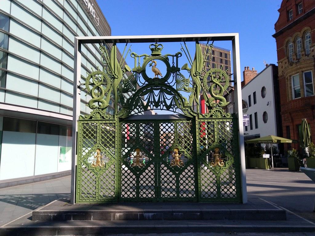 Liverpool Sailors' Home Gates