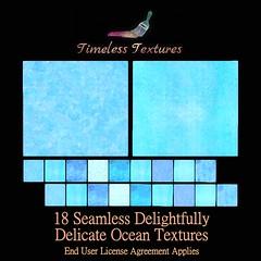 TT 18 Seamless Delightfully Delicate Ocean Timeless Textures