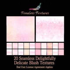 TT 20 Seamless Delightfully Delicate Blush Timeless Textures